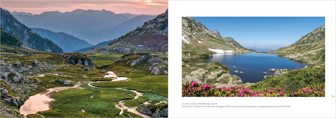 """Livre """"panoramas du Beaufortain"""", éditions La Fontaine de Siloé"""