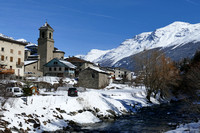 Haute Maurienne, hiver