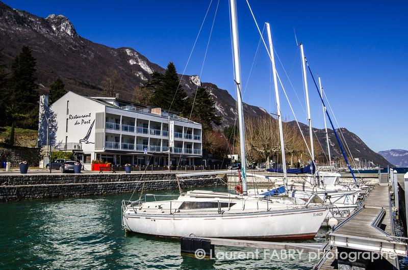 Arly photography restaurants autour du lac du bourget - Restaurant arcachon port de plaisance ...