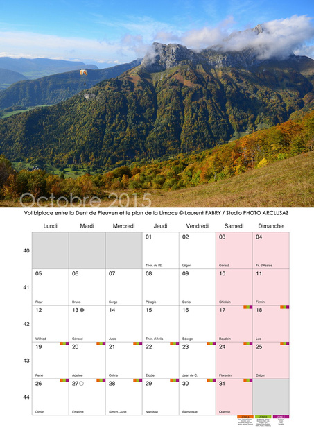 arly photography calendrier photo 2015 mural format a3 paysages des alpes. Black Bedroom Furniture Sets. Home Design Ideas
